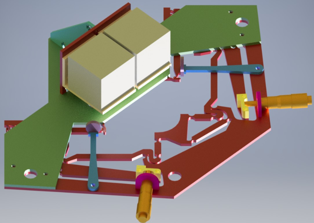 Flexure-based manipulator for 2D micro-motion