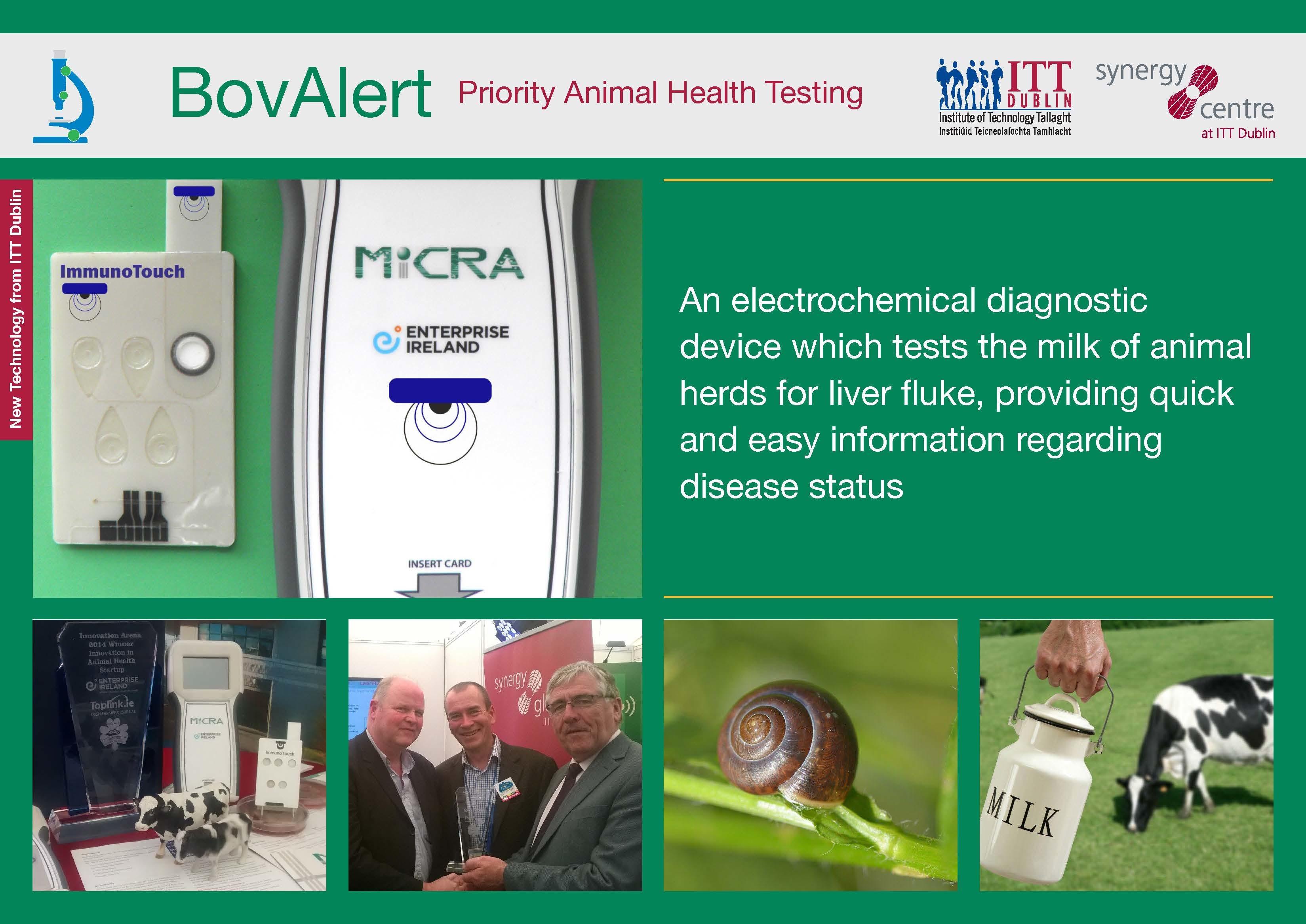 BovAlert: Priority Animal Health Testing