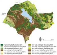 Environmental indices through LandSAT images