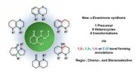 Synthesis of Heterocycles via Controlled Cyclization of Alpha-Enaminones